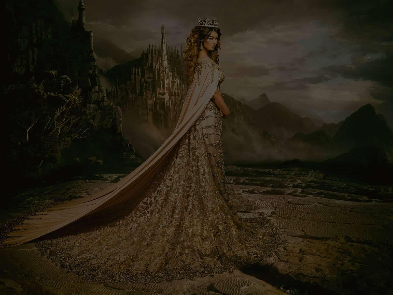 el magnefique jurken