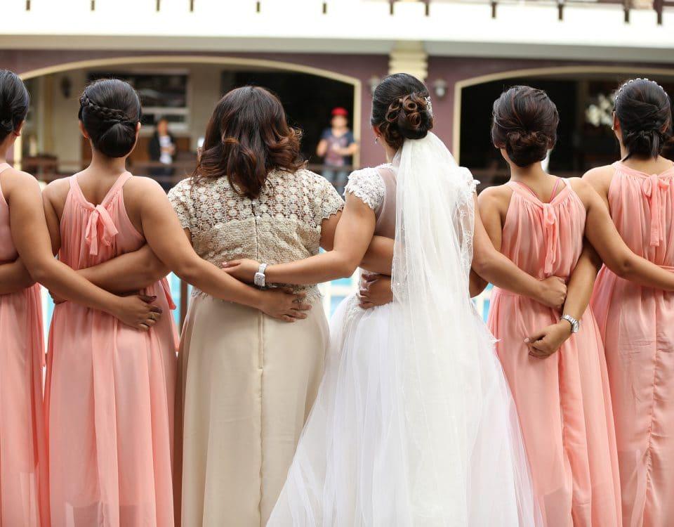bruidsmeisjes vragen